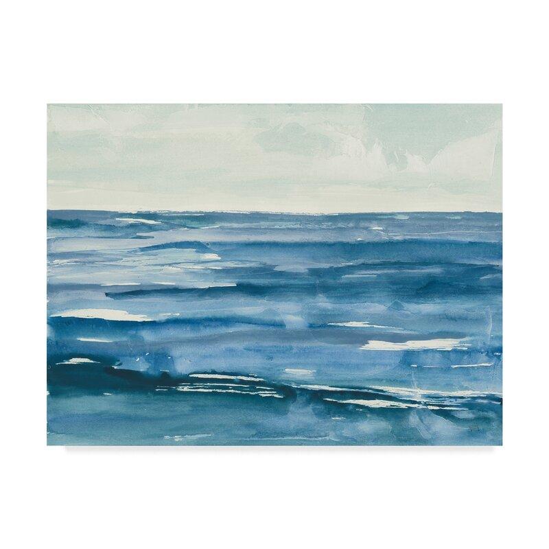 Highland Dunes Seascape I Acrylic Painting Print On Wrapped Canvas Wayfair