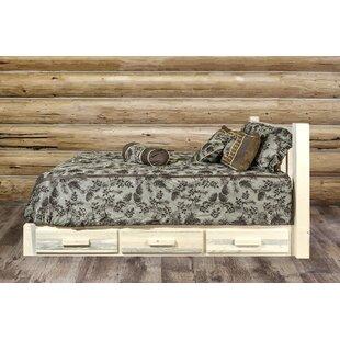 Abella Storage Platform Bed