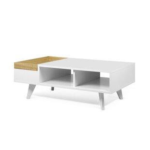 Corrigan Studio Deon Coffee Table with Tray Top