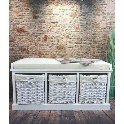 Gepolsterte Sitzbank Cottonwood mit Stauraum | Küche und Esszimmer > Sitzbänke > Einfache Sitzbänke | Haus am Meer