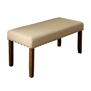 Wanda Modern Wood Dining Bench by Gracie Oaks Today Sale Only