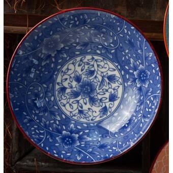 World Menagerie Beninga 4 Piece Floral Design Soup Bowl Set Reviews Wayfair