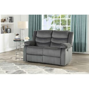 Act Suede Reclining Loveseat