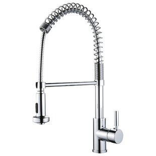 Yosemite Home Decor Spring Pull Out Single Handle Kitchen Faucet