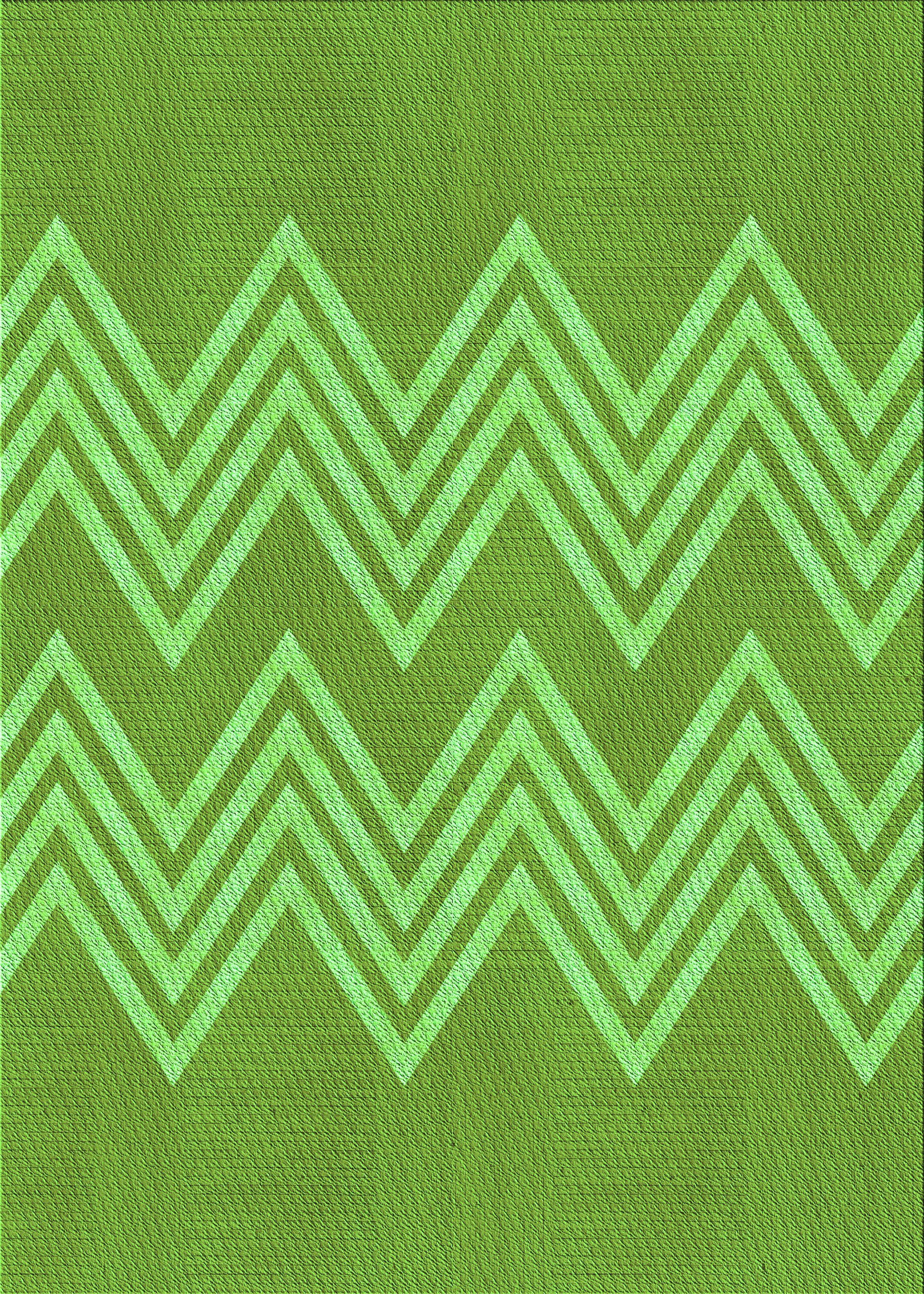 East Urban Home Iovita Chevron Wool Green Light Green Area Rug Wayfair