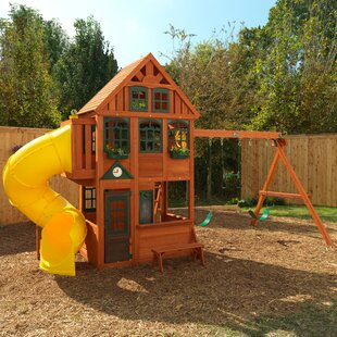 KidKraft Preston Wooden Swing Set