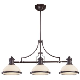 Darby Home Co Constance 3-Light Pool Table Light
