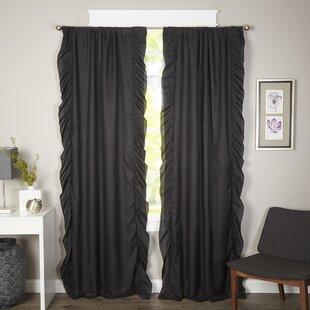 Maryam Solid Room Darkening Rod Pocket Curtain Panels (Set Of 2)