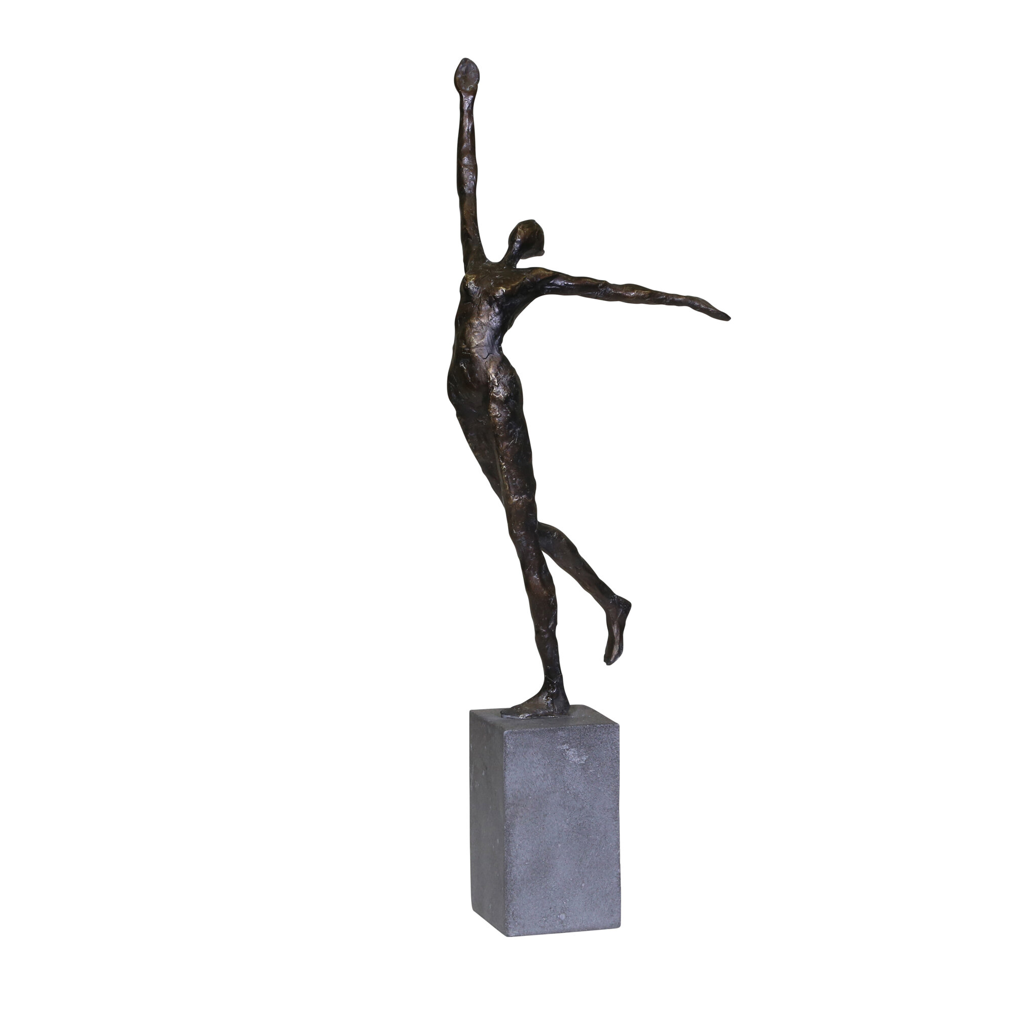 World Menagerie Crooke Gymnast Sculpture Wayfair