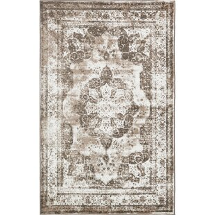 Look for Brandt Light Brown/Ivory Area Rug By Mistana