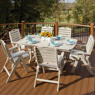 Yacht Club 7 Piece Dining Set by Trex Outdoor