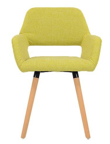 Polsterstuhl Stockholm dCor design Polsterfarbe: Limettengrün   Küche und Esszimmer > Stühle und Hocker   dCor design