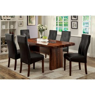 Hermínio 7 Piece Dining Set Red Barrel Studio