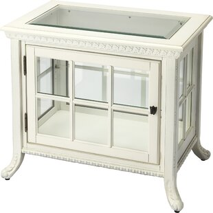 Hulme Chair Side Curio Cabinet by August Grove