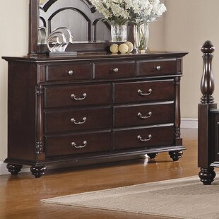 Woodhaven Hill Townsford 9 Drawer Dresser