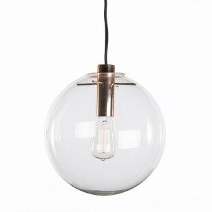 Eksjo 1-Light Globe Pendant by dCOR design