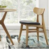 Glebe Solid Wood Side Chair (Set of 2) by Brayden Studio®