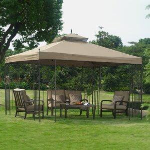 Parlay 10 Ft. W X 12 Ft. D Steel Permanent Gazebo