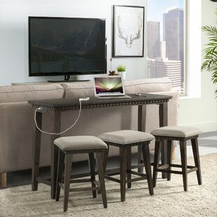 Suzann Multi-purpose 4 Piece Pub Table Set Laurel Foundry Modern Farmhouse