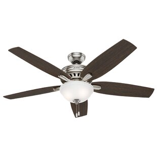 Affordable 56 Newsome 5-Blade Ceiling Fan By Hunter Fan