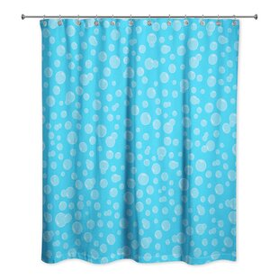 Kennith Bubbles Single Shower Curtain