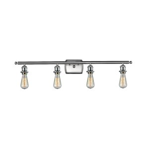 17 Stories Alfonso Bare Bulb 4-Light Vanity Light