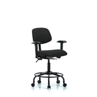 Arlo Ergonomic Drafting Chair by Symple Stuff New