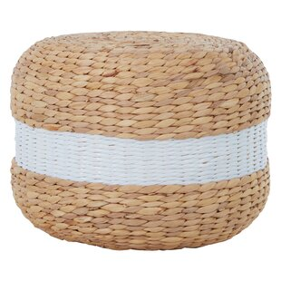 Carolina Seagrass Pouffe Stool (Set Of 2) By August Grove