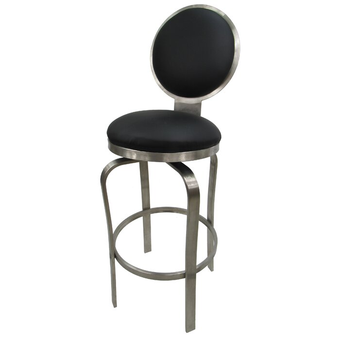 Awesome Zion Stainless Steel Bar Counter Swivel Stool Gmtry Best Dining Table And Chair Ideas Images Gmtryco