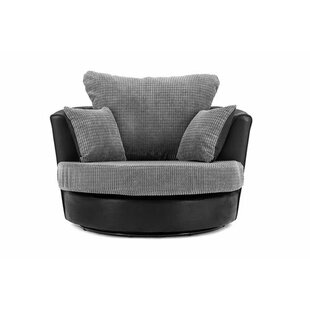 Drakes Swivel Tub Chair By Ebern Designs