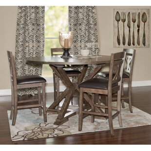 Chapman 5 Piece Drop Leaf Dining Set by Millwood Pines