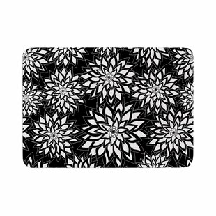 Julia Grifol and Garden Digital Vector Memory Foam Bath Rug