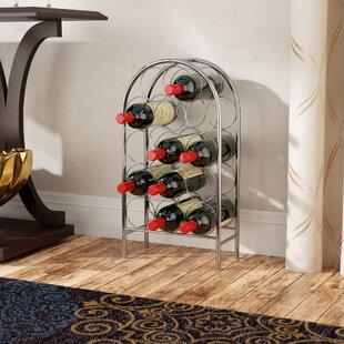 Orofino Freestanding 14 Bottle Floor Wine Rack