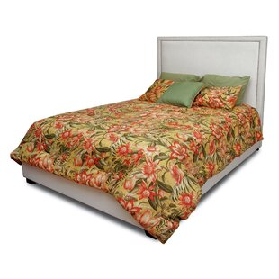 Dustin Upholstered Panel Bed by LYKE Home Wonderful