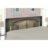 Moroccan Queen Upholstered Panel Headboard by East Urban Home