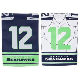 NFL DS Suede Foil Regular Jersey Polyester 1'6 x 1'0.5 ft. Banner (Set of 2) by Evergreen Enterprises, Inc