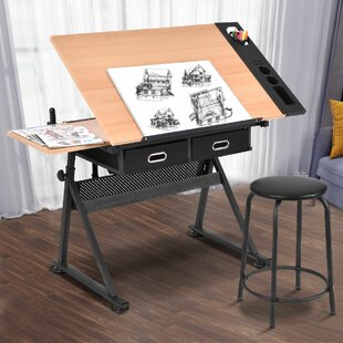 Lagrone Drafting Table and Chair Set