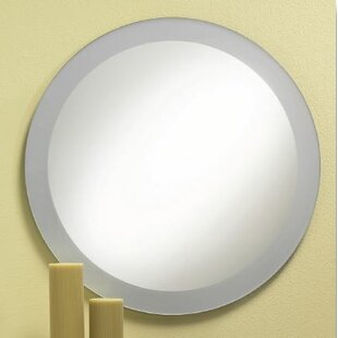 Read Reviews Proteus Frosted Border Bathroom/Vanity Mirror By Orren Ellis