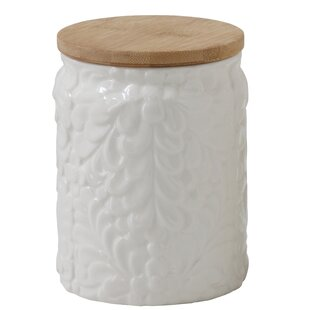 Embossed Kitchen Canister
