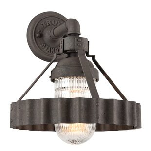 17 Stories Sawatt 1-Light Outdoor Sconce
