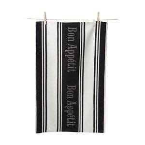 Bon Appetite Jacquard Hand Towel (Set of 2)