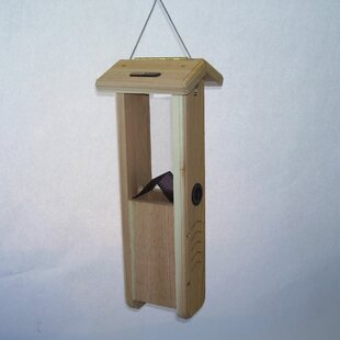 Birds Choice Cedar Pecker Hopper Bird Feeder