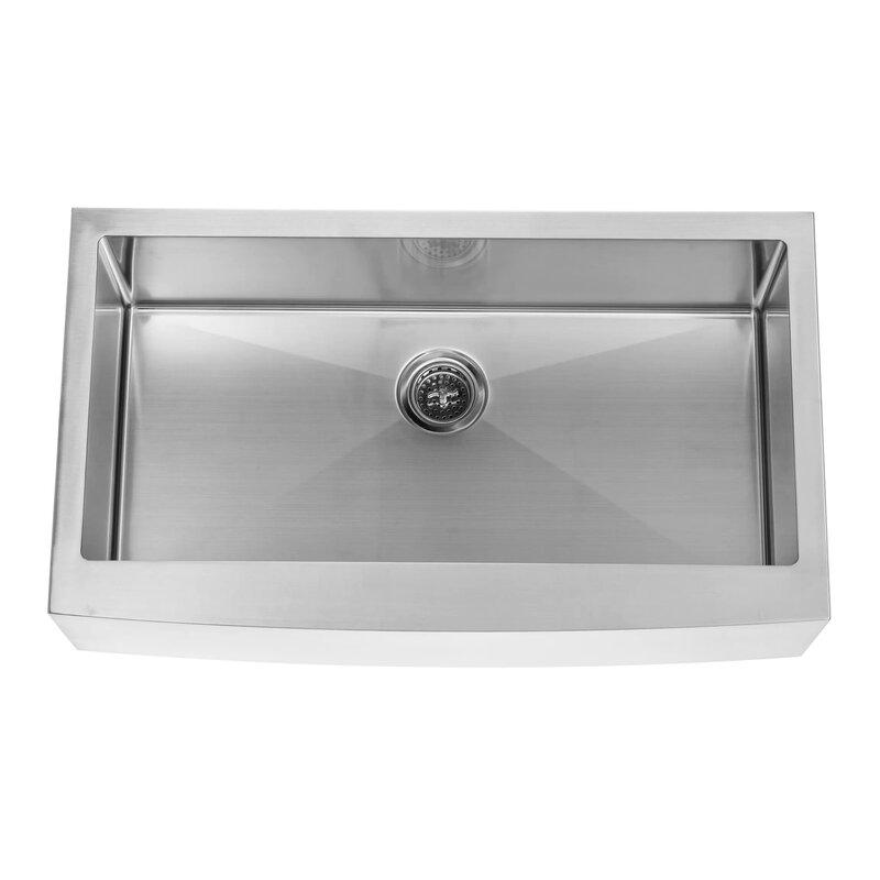 Soleil 32875 x 2075 single bowl farmhouseapron kitchen sink 32875 x 2075 single bowl farmhouseapron kitchen sink workwithnaturefo
