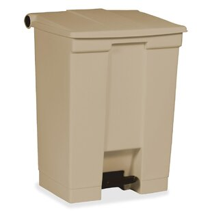 Rubbermaid Commercial Products 18 Gallon Step on Trash Can