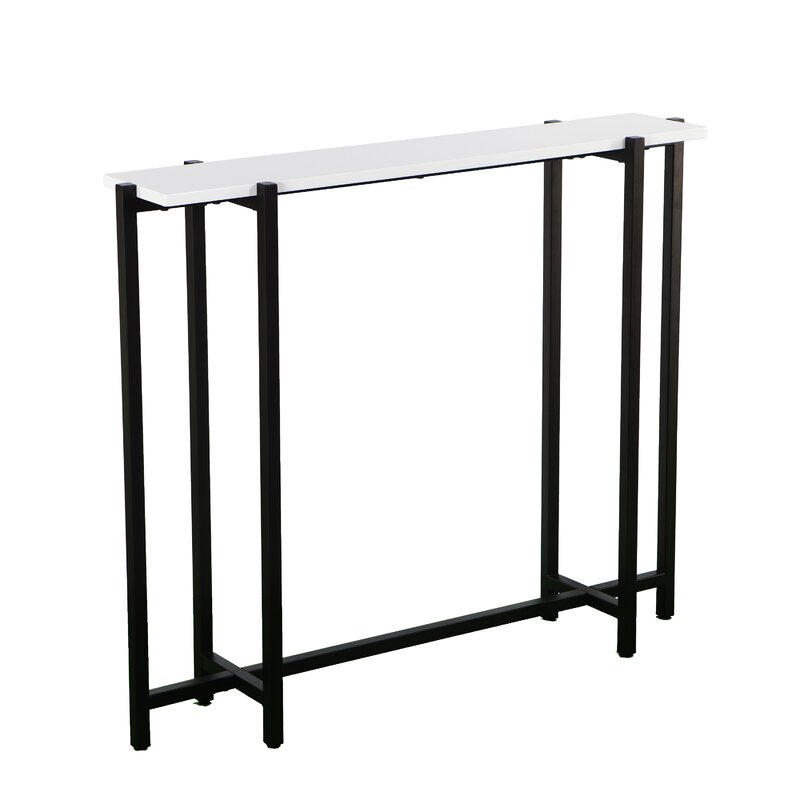 Beau Jeske Contemporary Narrow Console Table