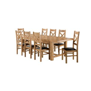 Apollonia Large Extending Dining Set With 8 Chairs By Gracie Oaks