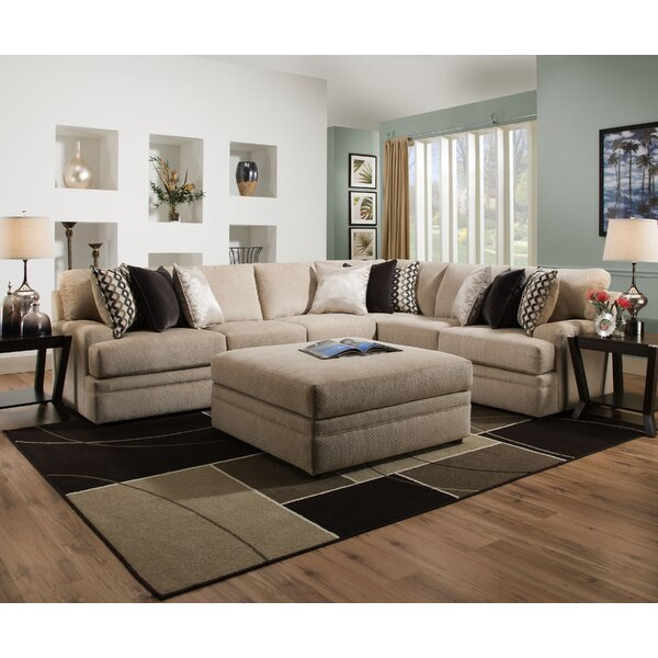 Latitude Run Palmetto Sectional & Reviews by Latitude Run