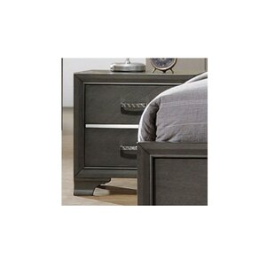 Alexandro 2 Drawer Nightstand