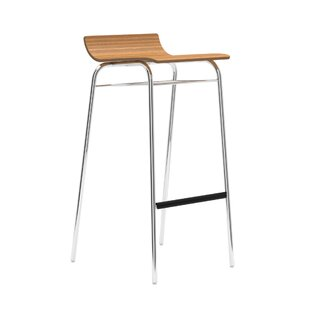Scoop Height Adjustable Bar Stool By Allermuir