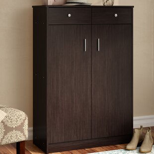 Andover Mills Cormiers 20-Pair Shoe Storage Cabinet